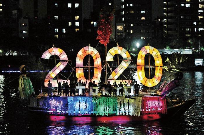東京ホタル 船照明